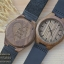 Wooden ChroNos นาฬิกาข้อมือไม้ สลักข้อความได้ สายหนังนิ่ม WC109 thumbnail 2