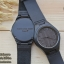 Wooden ChroNos นาฬิกาข้อมือไม้ สลักข้อความได้ สายหนังนิ่ม WC103 thumbnail 1