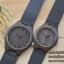 WoodenChroNos นาฬิกาข้อมือไม้คู่ สลักข้อความได้ สายหนัง WC203 thumbnail 2