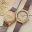 WoodenChroNos นาฬิกาข้อมือไม้ สลักข้อความได้ สายหนัง WC601 thumbnail 1