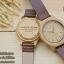 WoodenChroNos นาฬิกาข้อมือไม้ สลักข้อความได้ สายหนัง WC601 thumbnail 3
