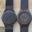 Wooden ChroNos นาฬิกาข้อมือไม้ สลักข้อความได้ สายหนังนิ่ม WC102 thumbnail 1