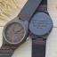 Wooden ChroNos นาฬิกาข้อมือไม้ สลักข้อความได้ สายหนังนิ่ม WC102 thumbnail 2