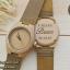 WoodenChroNos นาฬิกาข้อมือไม้ สลักข้อความได้ สายหนังนิ่ม WC501 thumbnail 1