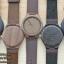 Wooden ChroNos นาฬิกาข้อมือไม้ สลักข้อความได้ สายหนังนิ่ม WC106 thumbnail 4