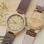 Wooden ChroNos นาฬิกาข้อมือไม้ สลักข้อความได้ สายหนัง WC301 thumbnail 3