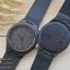 Wooden ChroNos นาฬิกาข้อมือไม้ สลักข้อความได้ สายหนังนิ่ม WC103 thumbnail 3