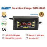SUOER เครื่องชาร์จแบตเตอรี่รถยนต์ LCD Digital Display Smart Fast Charger 12 V/6.0A รุ่น SON-1206D พร้อมคู่มือการใช้งานภาษาไทย และรับประกันคุณภาพนาน 3 เดือน