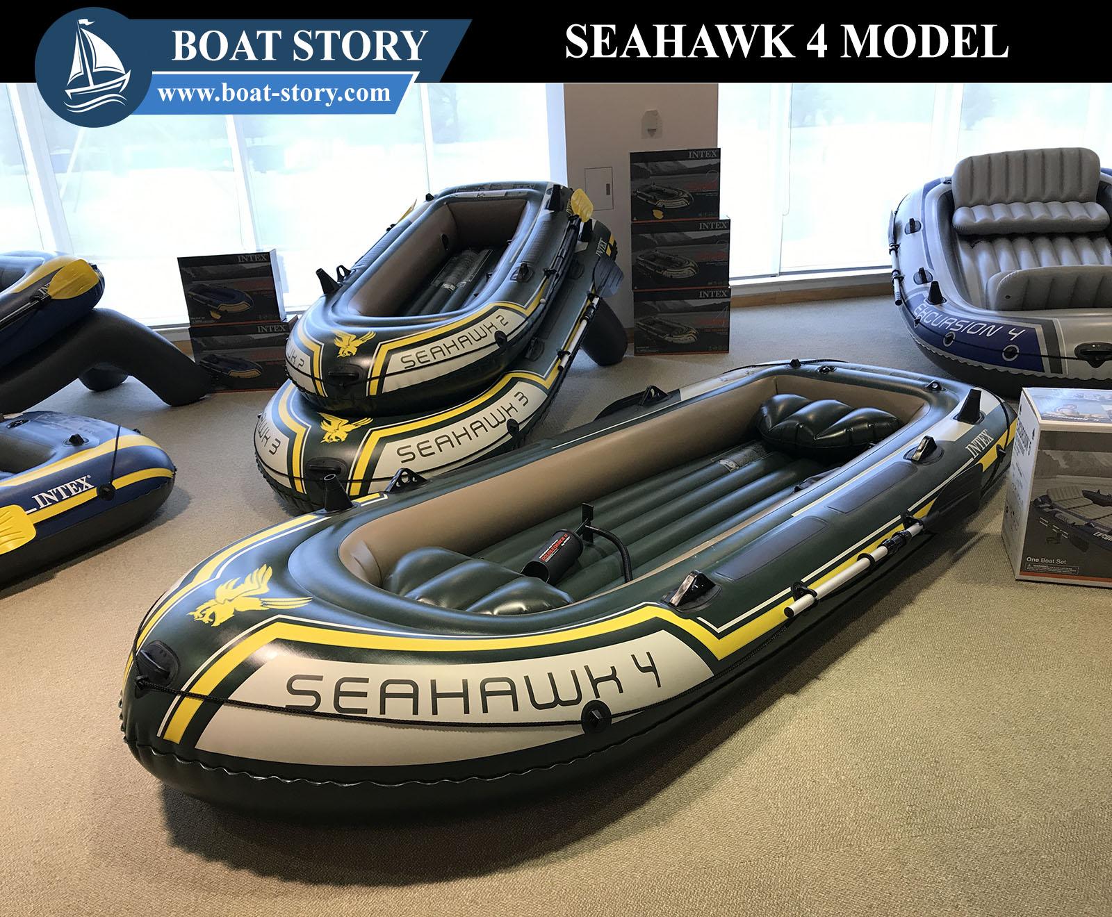 เรือยาง intex seahawk 4