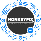 MonkeyFix Facebook Messenger Scan Code