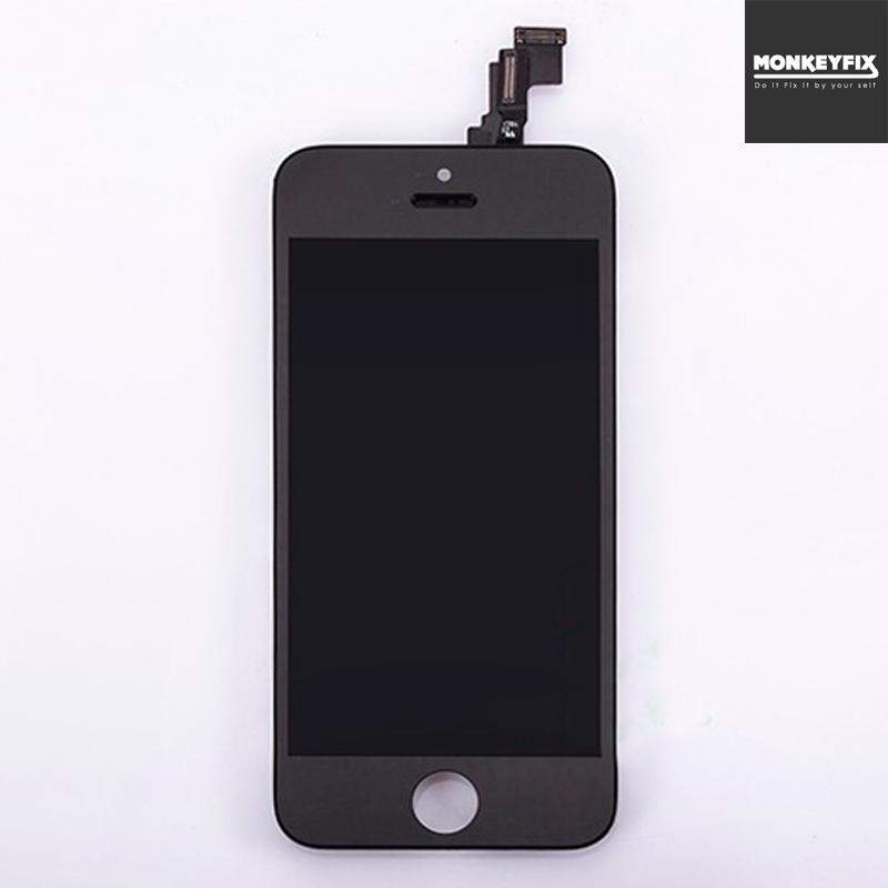 ชุดเปลี่ยนจอ iPhone 5S สีดำ ราคาพิเศษประกัน 3 เดือน
