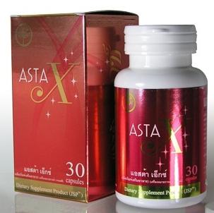 สาหร่ายแดง-แอสต้าเอ็กซ์ Asta-x สารต้านอนุมูลอิสระ 4 กระปุก