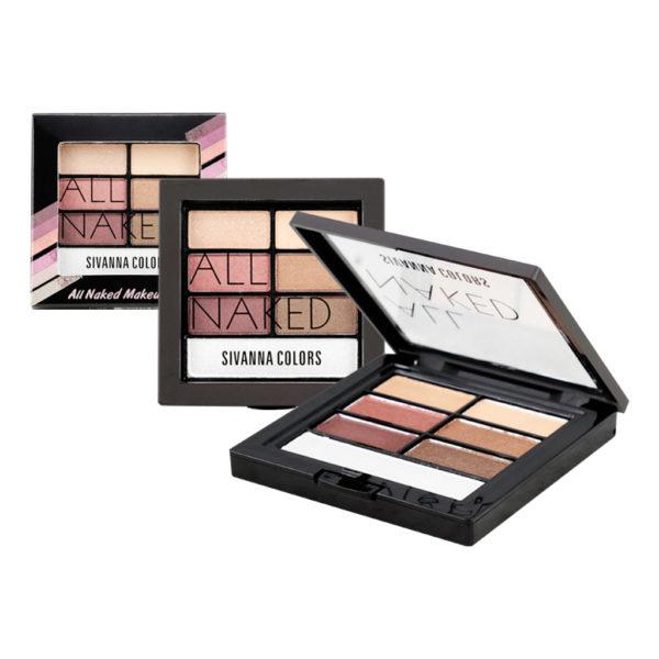 Sivanna Colors All Naked Eyeshadow HF589 อายแชโดว์ 4 สี เนื้อแมท+ชิมเมอร์ 85 บาท