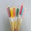 ตะเกียบไม้ด้ามดินสอสี