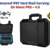 กระเป๋า Waterproof IP67 Hard Shell Carrying Bag for DJI Mavic PRO - V.3 สีดำ