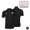 เสื้อโปโลช้างศึก ทีมชาติไทย 2018 WA-3315NFTM2 สีดำ