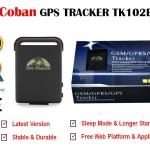 2018 Coban อุปกรณ์ติดตามรถ/บุคคล GPS Tracker TK102B (มี Sleep Mode) ฟรี Web Platform เพื่อดู Online Realtime เป็นเวลา 10 ปี