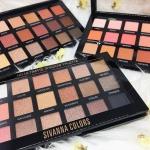Sivanna hd ultimate shadow palette hf375 พาเลตต์หรู น่ารัก สุดคุ้ม กับอายแชโดว์ 18 เฉดสี 175 บาท