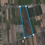 ขายที่ดิน สวยมากๆ ติดถนน และที่สาธารณประโยชน์ ด้านหนึ่งติดคลอง อีกด้านติดที่ถนน รูป แปลงที่ดิน ไม้บรรทัด มี 3 แปลง 100 ไร่