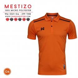เสื้อโปโล วอริกซ์ Mestizo WA-3321