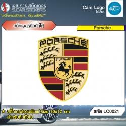 สติ๊กเกอร์ติดทั่วไปงานพิมพ์ Porsche