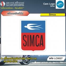 สติ๊กเกอร์ติดทั่วไปงานพิมพ์ Simca