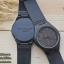 Wooden ChroNos นาฬิกาข้อมือไม้ สลักข้อความได้ สายหนังนิ่ม WC103