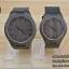 WoodenChroNos นาฬิกาข้อมือไม้คู่ สลักข้อความได้ สายหนัง WC203