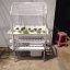 ชุดปลูกผักไฮโดรโปนิกส์ แบบตั้งโต๊ะ ขนาด 1 m 4 รางปลูก+2 รางอนุบาล thumbnail 7
