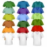 รับผลิตเสื้อยืด คอกลม คอวี ทั้งแขนสั้น แขนยาว เสื้อกล้าม ผ้า Cotton