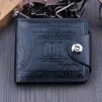 กระเป๋าสตางค์ผู้ชาย 100 DOLLAR [สีดำ] รหัส C003
