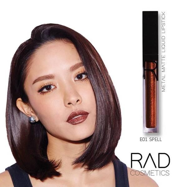 11RAD liquid lipstick ทั้งแบบ เมทัลลิค และ แมท ของชาใช้ส่วนผสมเกรดดีที่สุดจาก USA เนื้อลิปดีมาก