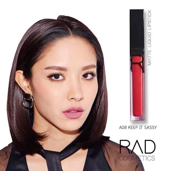 RAD liquid lipstick ทั้งแบบ เมทัลลิค