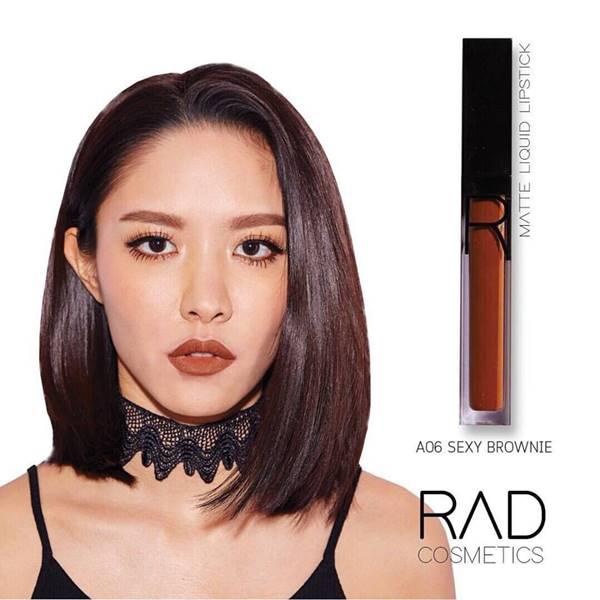 6 RAD liquid lipstick ทั้งแบบ เมทัลลิค และ แมท ของชาใช้ส่วนผสมเกรดดีที่สุดจาก USA เนื้อลิปดีมาก