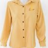 954318 ขายส่งเสื้อผ้าแฟชั่น เสื้อเหลืองแขนยาว รอบอก 38 นิ้ว