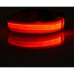ปลอกคอ LED สีแดง S