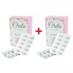 Orita โอริต้า อาหารเสริมบำรุงผิวและควบคุมน้ำหนัก โดย ปูเป้ อรหทัย 2 กล่อง