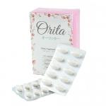 Orita โอริต้า อาหารเสริมบำรุงผิวและควบคุมน้ำหนัก โดย ปูเป้ อรหทัย 1 กล่อง