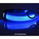 ปลอกคอ LED สีฟ้า XS