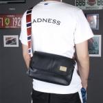 กระเป๋าสะพายข้างผู้ชาย รหัส A014 [Three-box]