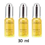 ORADOL G9 essence serum ออราดอล เซรั่ม เสาวรสสีทอง ผลิตภัณฑ์โดย แตงโม นิดา (ภัทรธิดา) จากผลการวิจัยประเทศฝรั่งเศสขวดใหญ่ ขนาด 30 มิลิลิตร 3 ขวด