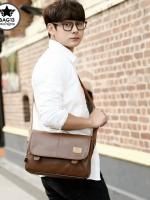 กระเป๋าสะพายข้างผู้ชาย รหัส A010 [Three-box]