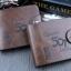 กระเป๋าสตางค์ผู้ชาย Genuine [สีน้ำตาล] รหัส C006 thumbnail 5