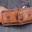 กระเป๋าสตางค์ผู้ชาย 100 DOLLAR [สีน้ำตาล] รหัส C004 thumbnail 2