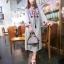 250104 ขายส่งเสื้อผ้าแฟชั่นผ้าสปันงานปัก maxxi dresss กำลังเป็นที่นิยมตอนนี้ค่ะ รอบอกฟรีไซส์ 32-40 นิ้วใส่ได้ค่ะ ยาว 44 นิ้ว thumbnail 1