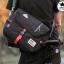 กระเป๋าสะพายข้างผู้ชาย เนื้อผ้า Oxford Spinning กันน้ำสีดำ รหัส A014 thumbnail 1