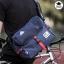 กระเป๋าสะพายข้างผู้ชาย เนื้อผ้า Oxford Spinning กันน้ำสีดำ รหัส A014 thumbnail 4