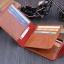 กระเป๋าสตางค์ผู้ชาย 100 DOLLAR [สีน้ำตาล] รหัส C004 thumbnail 4