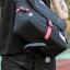 กระเป๋าสะพายข้างผู้ชาย เนื้อผ้า Oxford Spinning กันน้ำสีดำ รหัส A014 thumbnail 3